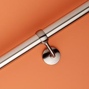 תמונה של מאחז יד כולל חבק לחיבור קיר תוצרת RINOX גרמניה